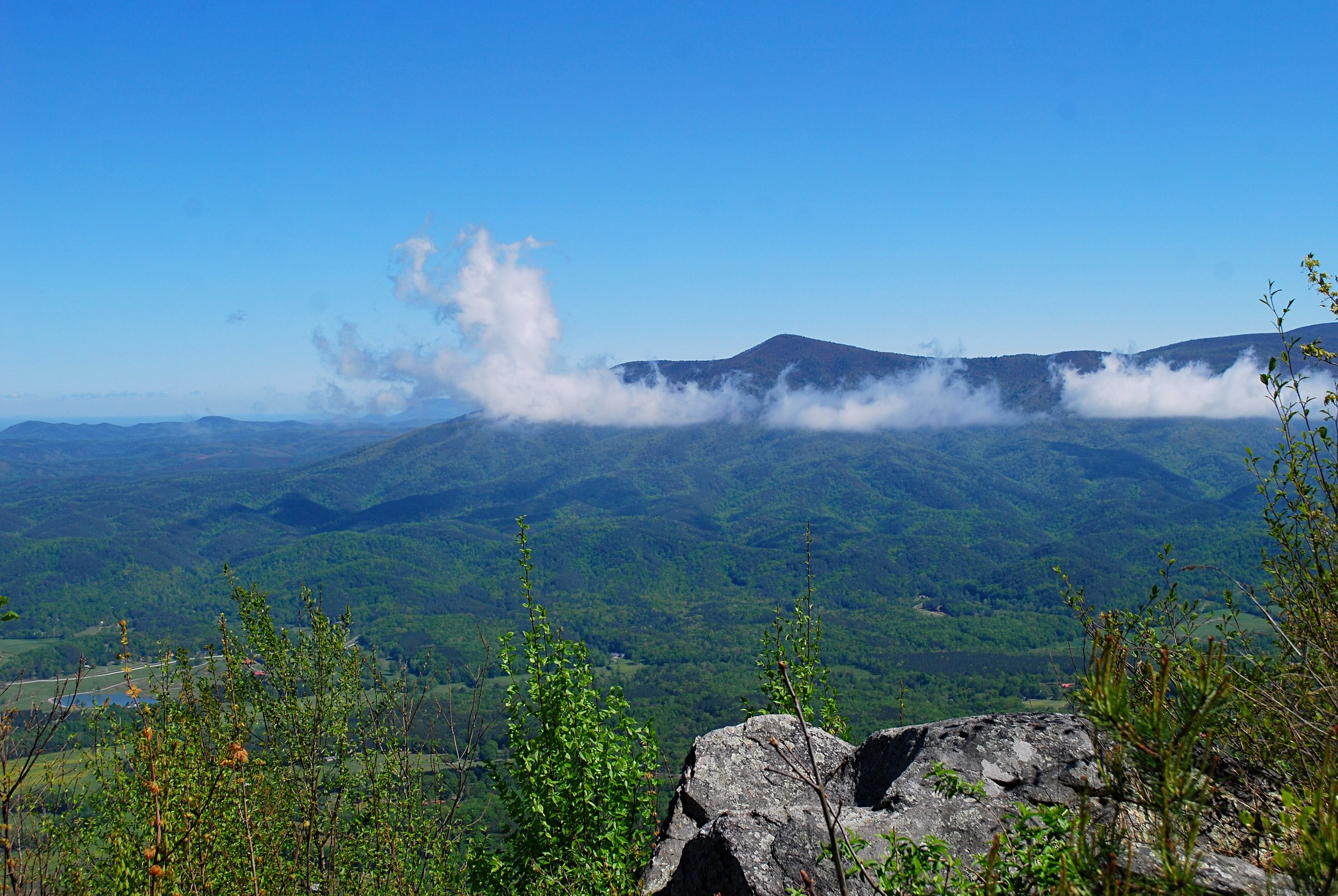 Grassy Mountain north of the West Overlook. Photo: Bob Butters