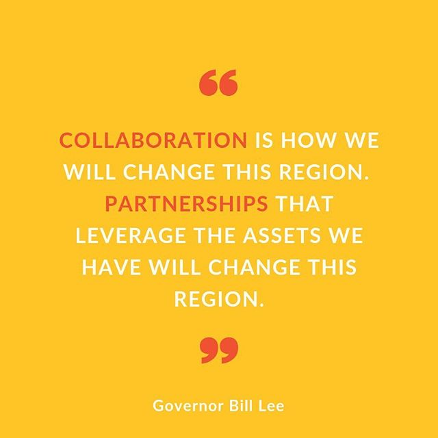 We're all about @govbilllee's inspiring words today at the @tnvalleycorridor National Summit! Hosted in #Chattanooga, the 2019 summit has been a fantastic gathering of leaders from 5 states, and organizations such as @tva and @oakridgelab, among many others. Regional collaboration makes us stronger together. Connect with us to make an impact in the #greaterCHA region. #HowWeThrive