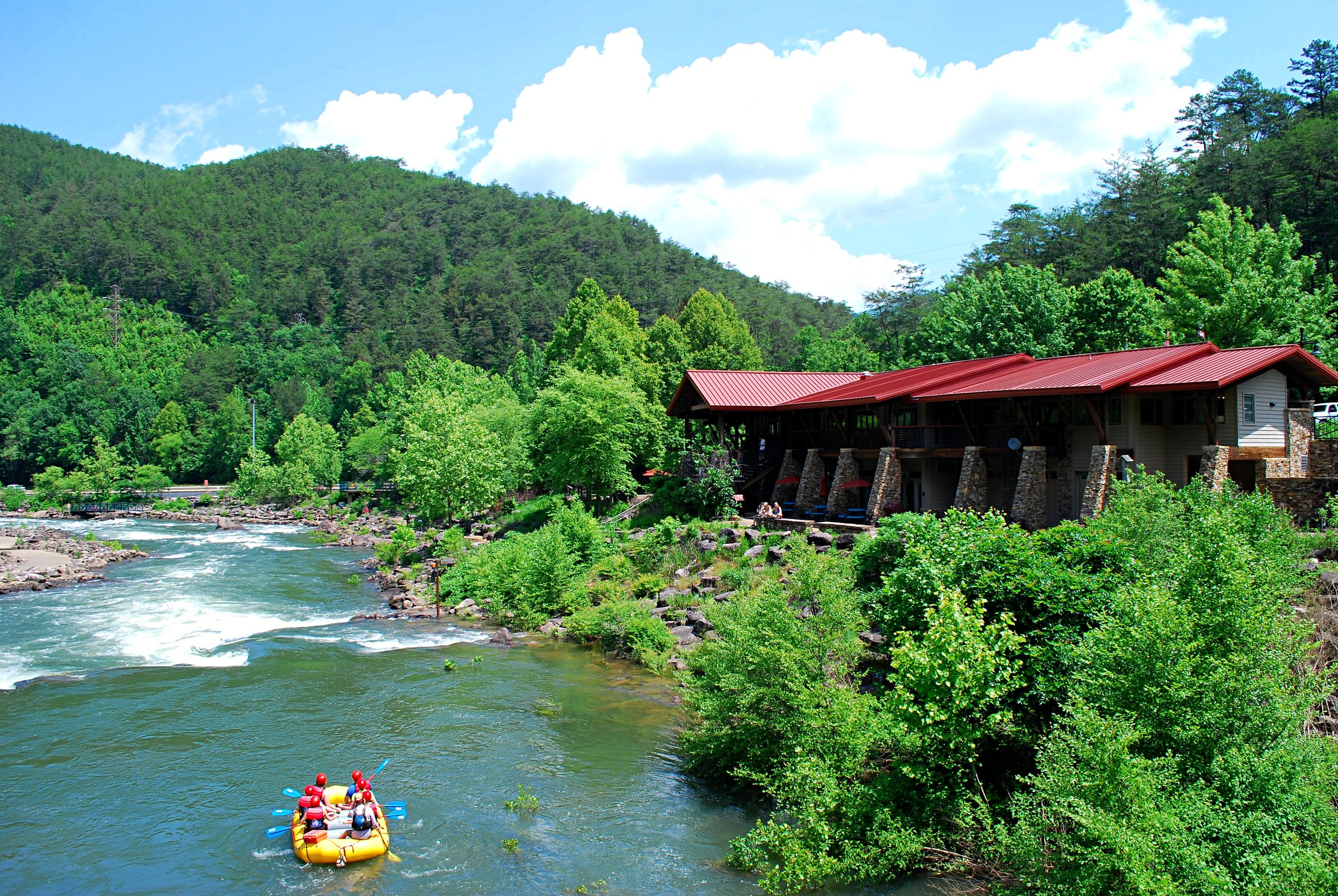 The Ocoee Whitewater Center. Photo: Bob Butters