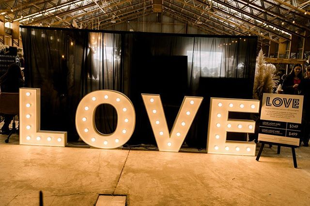 Loving how romantic our Love Lights look at the @hitchdweddingfair over the weekend!  We're already getting bookings for he 2019/2020 wedding season so get in touch to book before you miss out on your date!  Photo credit @sweeteventsphotographynz