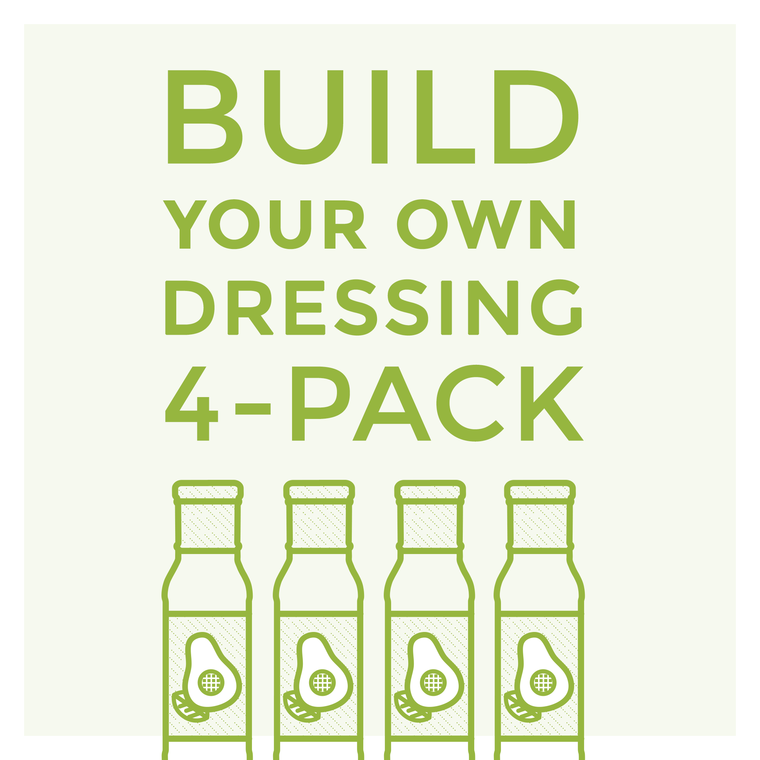 Build Your Own Dressing 4 Pack