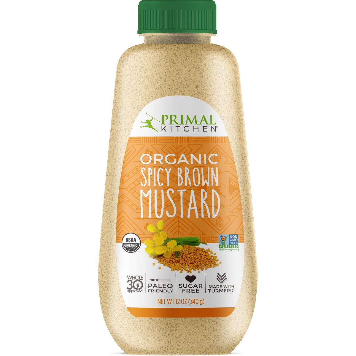 Organic Spicy Brown Mustard