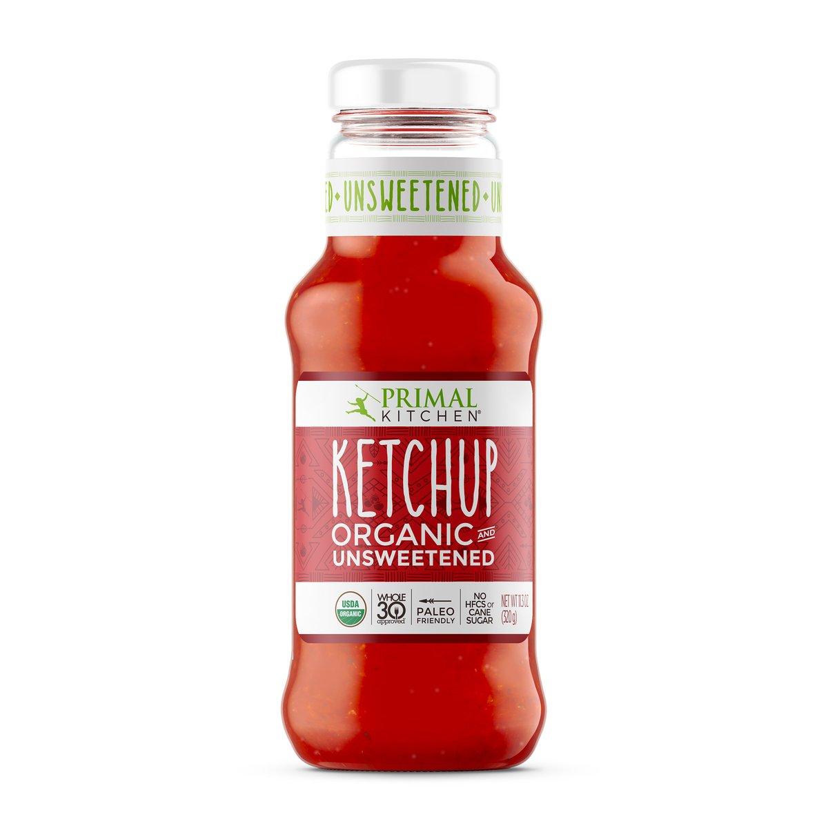 Organic Unsweetened Ketchup