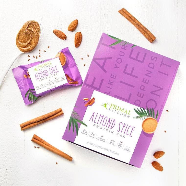 Almond Spice Protein Bar