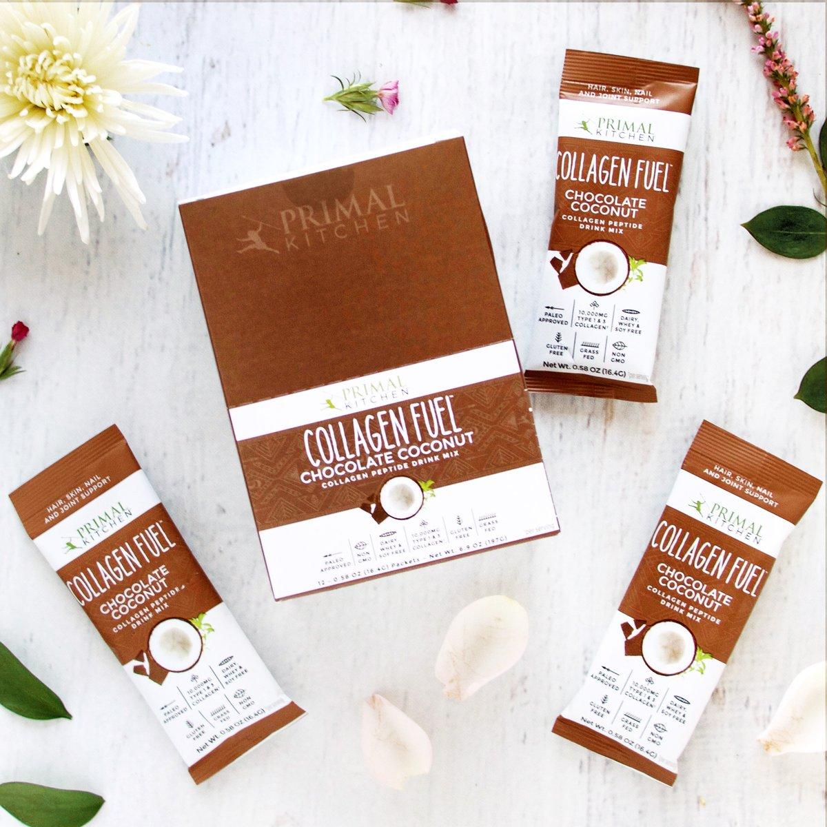 Chocolate Collagen Fuel, Single Serve Packs