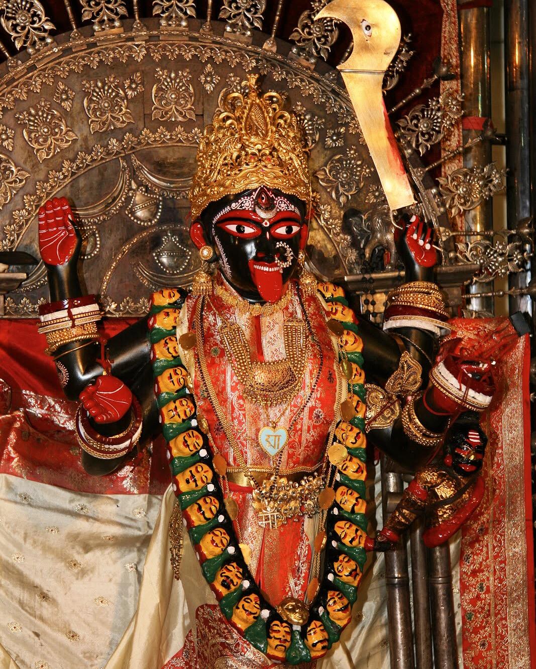 Ma Bhavatarini, Dakshineswar Kali Temple, by Usha Harding.