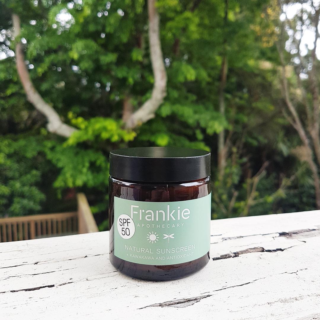Natural Sunscreen SPF 50 120 ml with Kawakawa + Antioxidants. $49.99