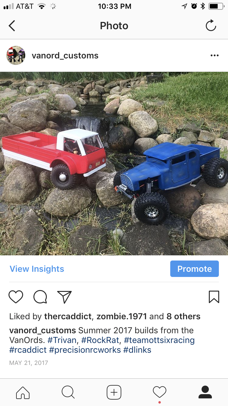 This picture reminds me of the majority of images out there of scale Rc trucks. The angle is just not right and the trucks are clearly of the tiny variety.