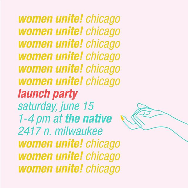 See you on June 15! Learn more about our work and meet our three partner charities (we'll officially announce them next week!!). Our friends at @thenativechicago will be selling @titosvodka drinks for $5 with all proceeds supporting the work of Women Unite! and our amazing partner charities. Link to RSVP in bio. 💖💖💖