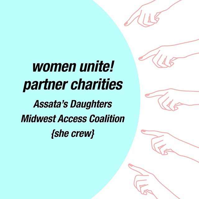 We are so excited to announce this year's three partner charities! For 12 months, Women Unite! will provide our services to these three groups for free - when you support Women Unite! you support our charitable partners. We are grateful for the chance to work with such amazing organizations and look forward to the year ahead! 💖💖💖
