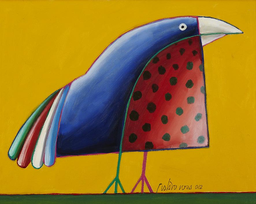 Gustavo Rosa - 40 x 50 - Passaro - 2012 - Ost