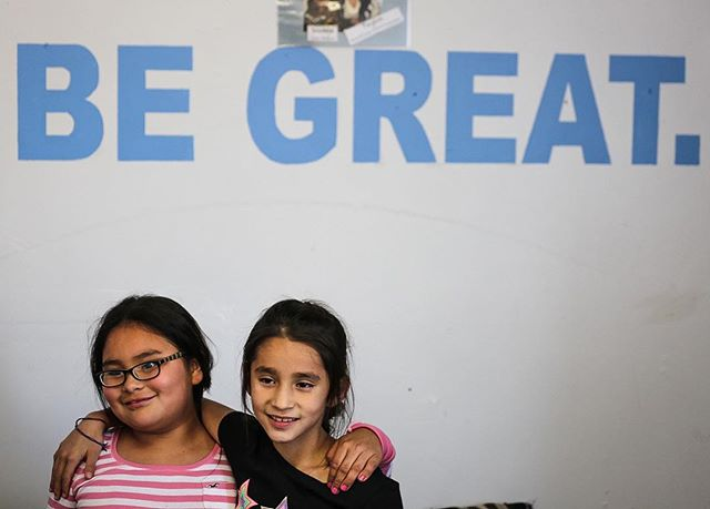 """The greatness of a community is most accurately measured by the compassionate actions of its members."" - #CorettaScottKing #RoseBudBGC - Youth at the Rosebud Boys and Girls Club www.Rosebudbgc.org"
