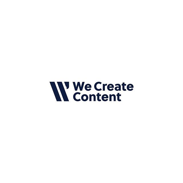 @we.createcontent isn't just a brand that creates content, they give their clients a voice.  When they reached out for a new logo it's was essential we captured this and represent this across there brand.