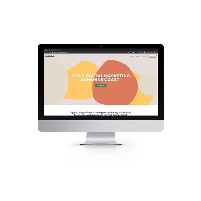We are live! Head over to @digital.folk and check out the branding and website for the Sunshine Coast first SEO consultants.