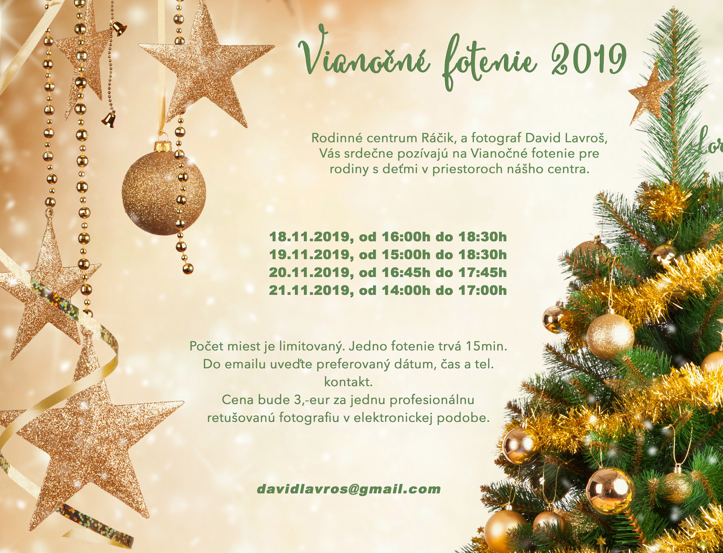Vianoce Racik 2019 Plagat