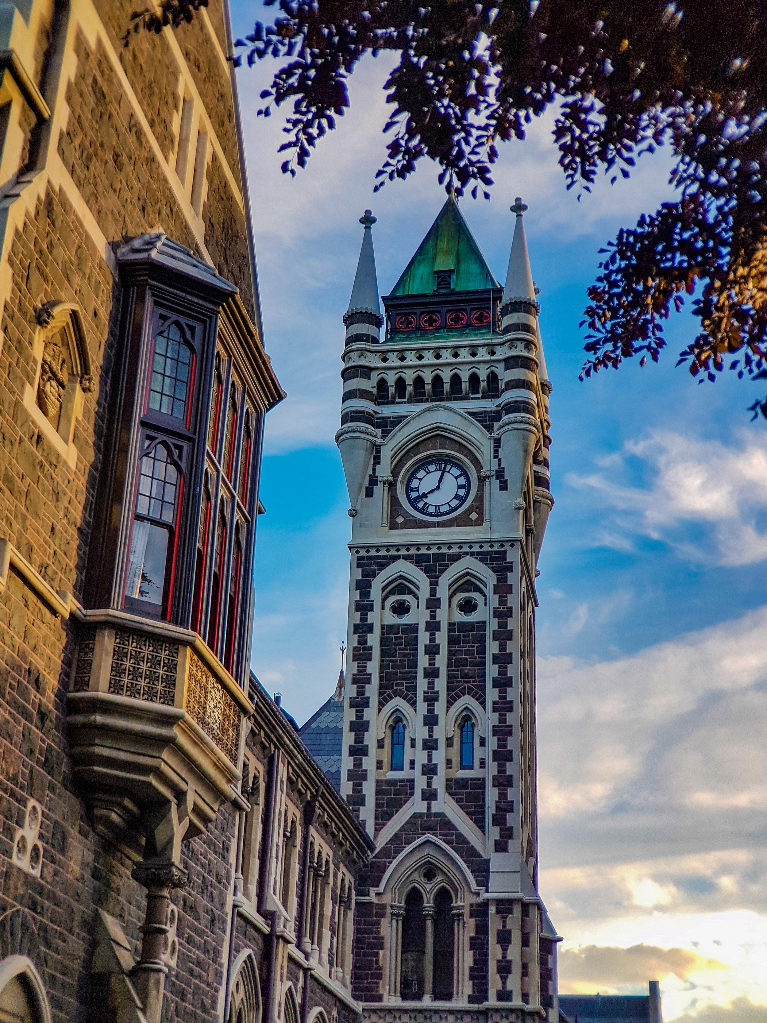 University of Otago Clocktower
