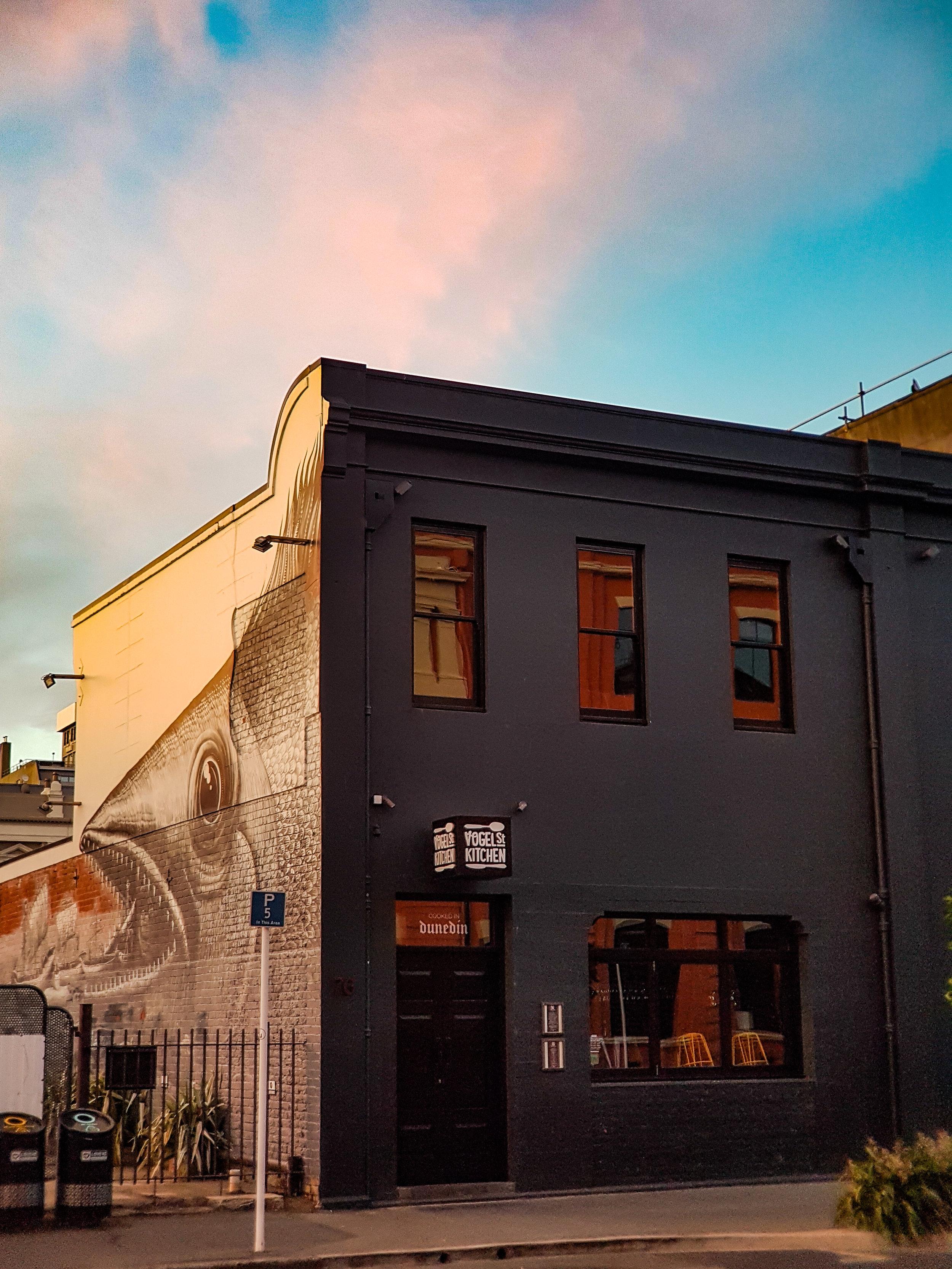 Vogel Street Kitchen Dunedin warehouse precinct