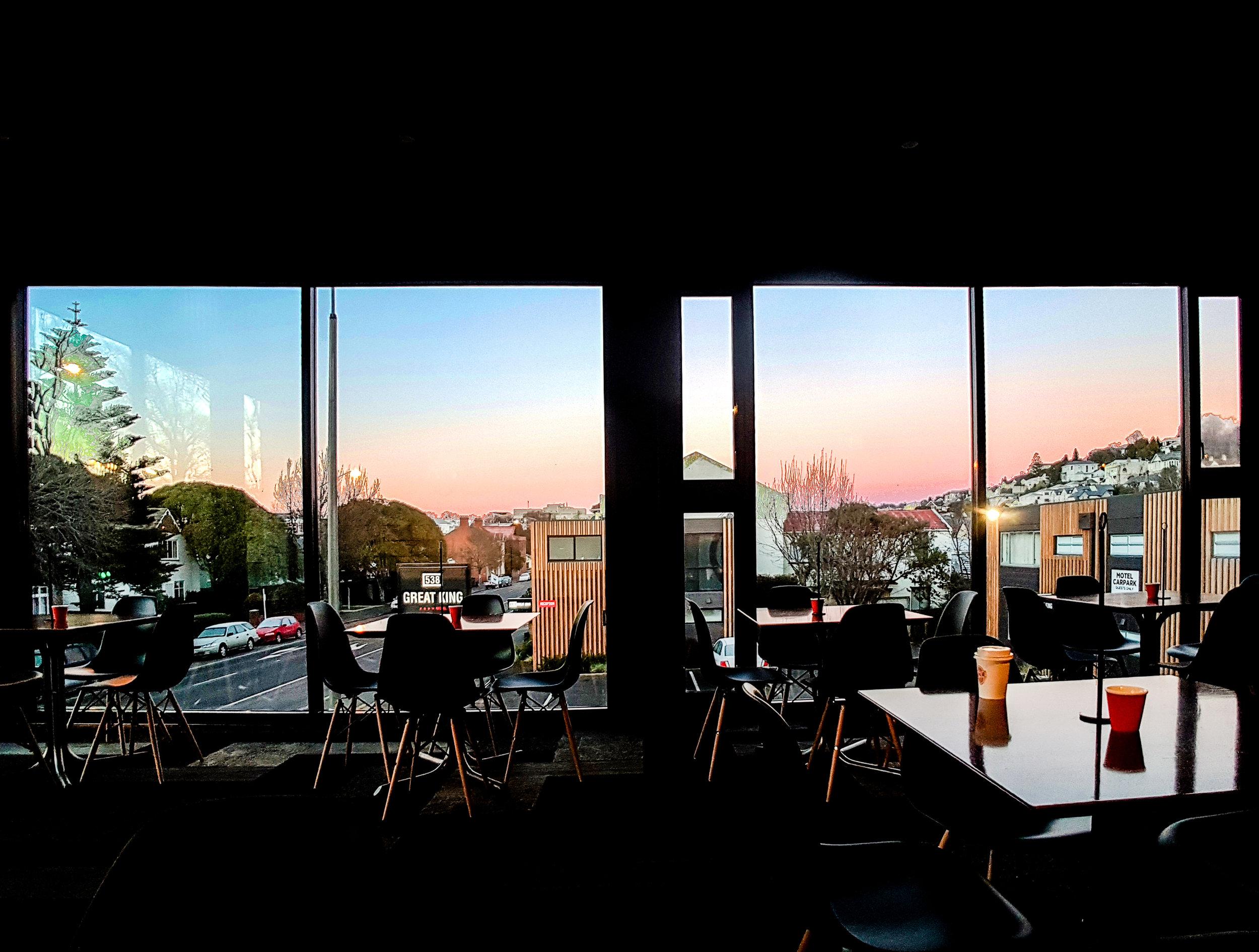 Dunedin cafe