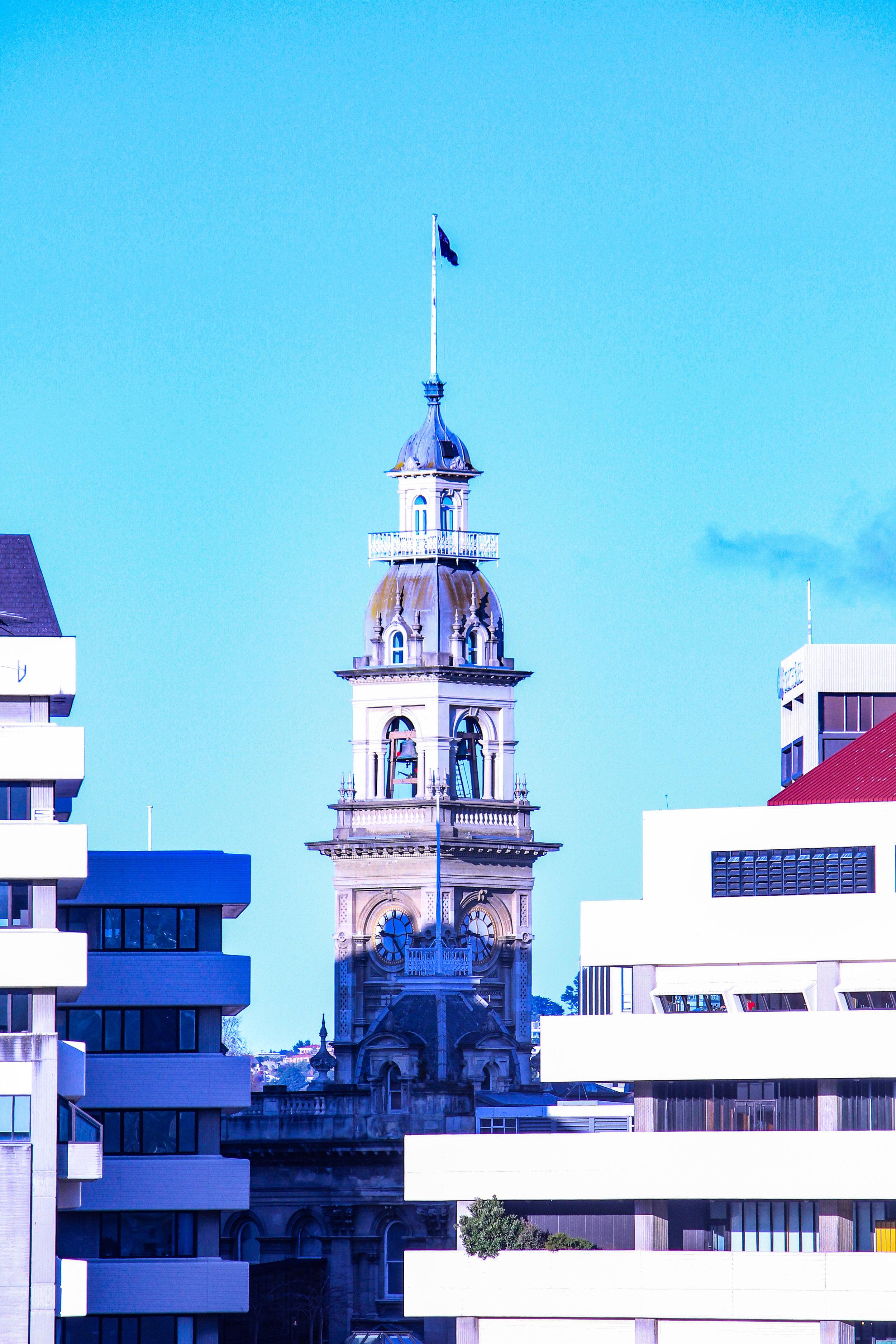 Dunedin clocktower Municipal chambers