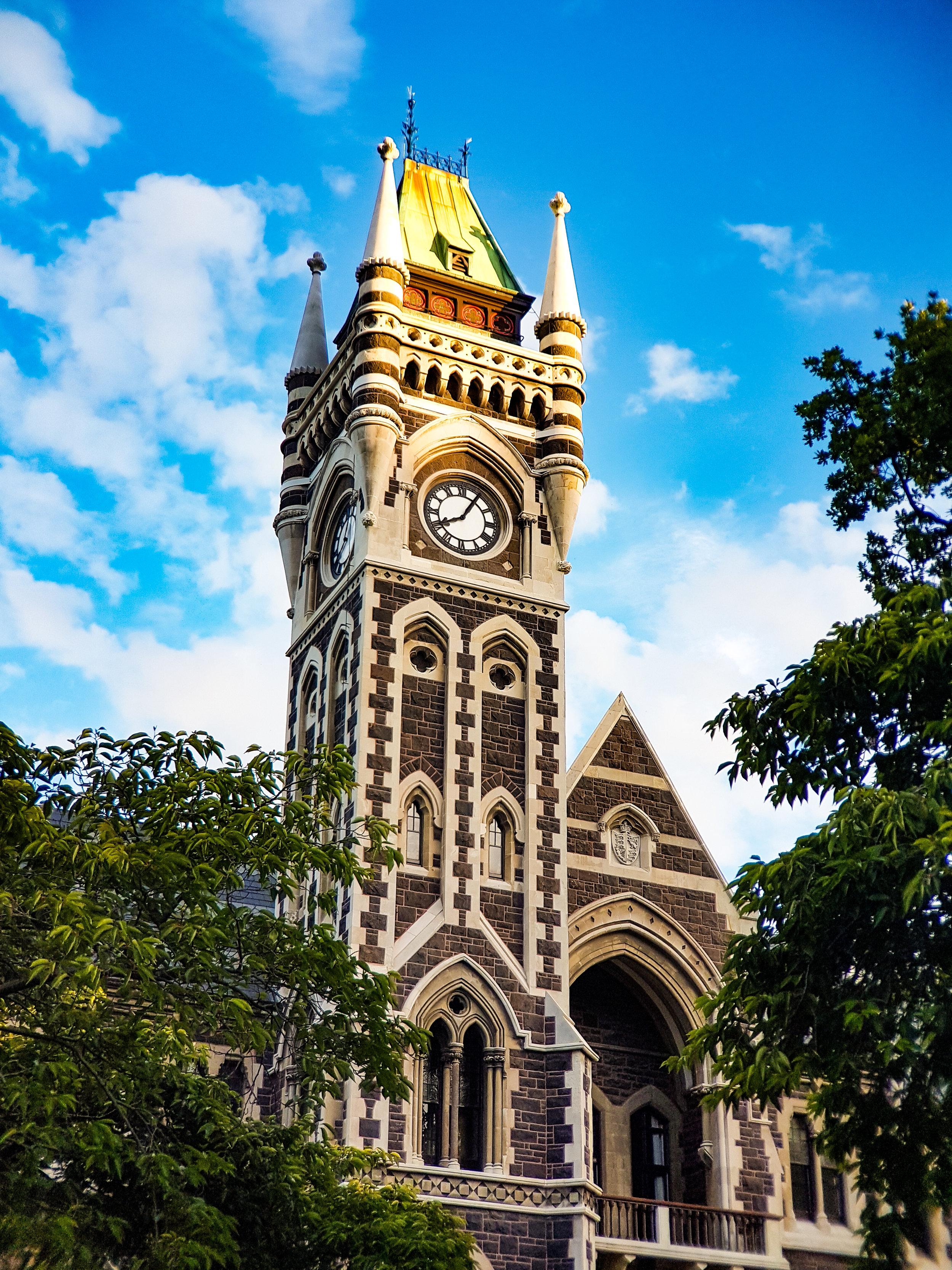 Otago University clocktower