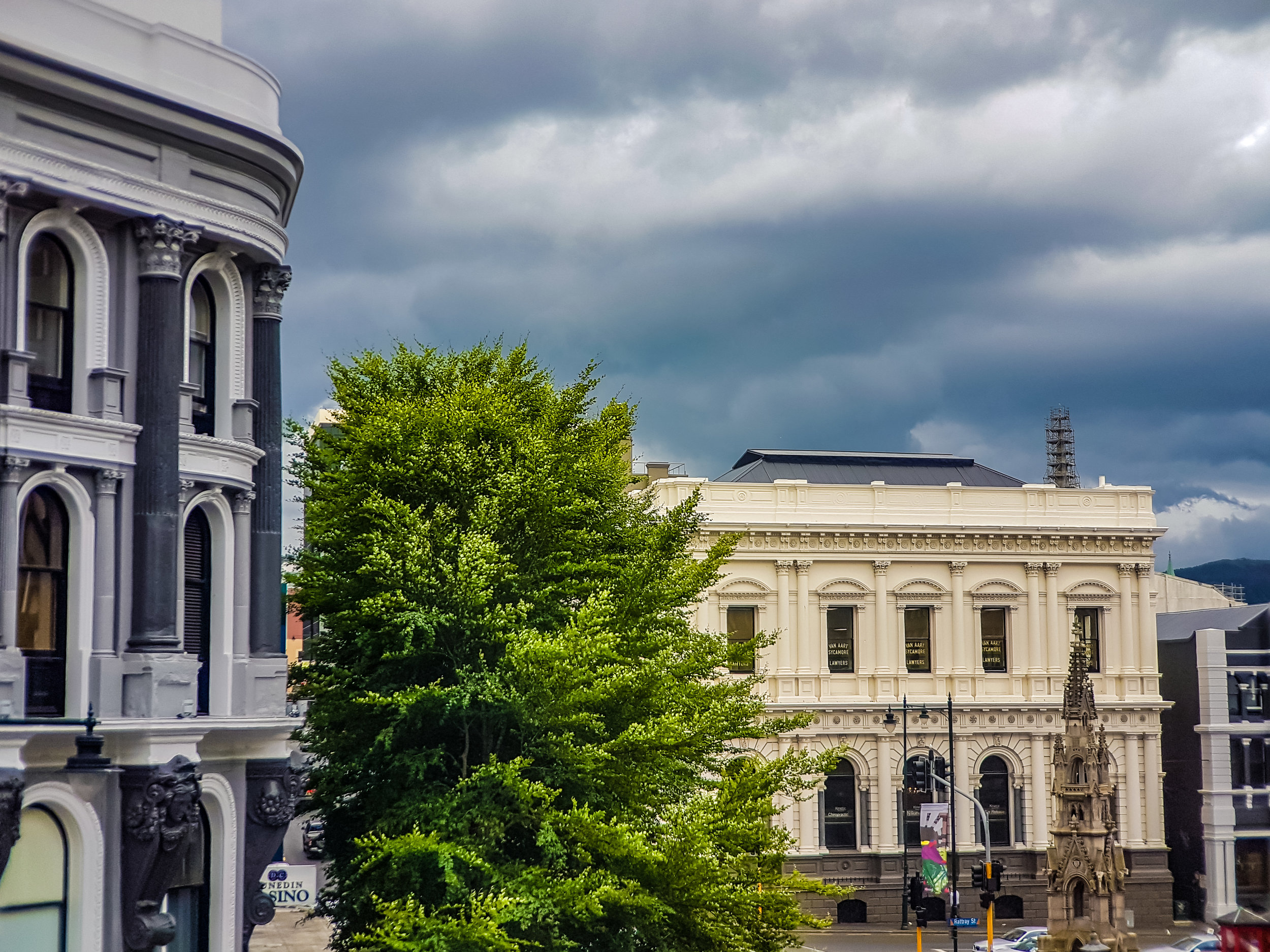 heritage building Dunedin