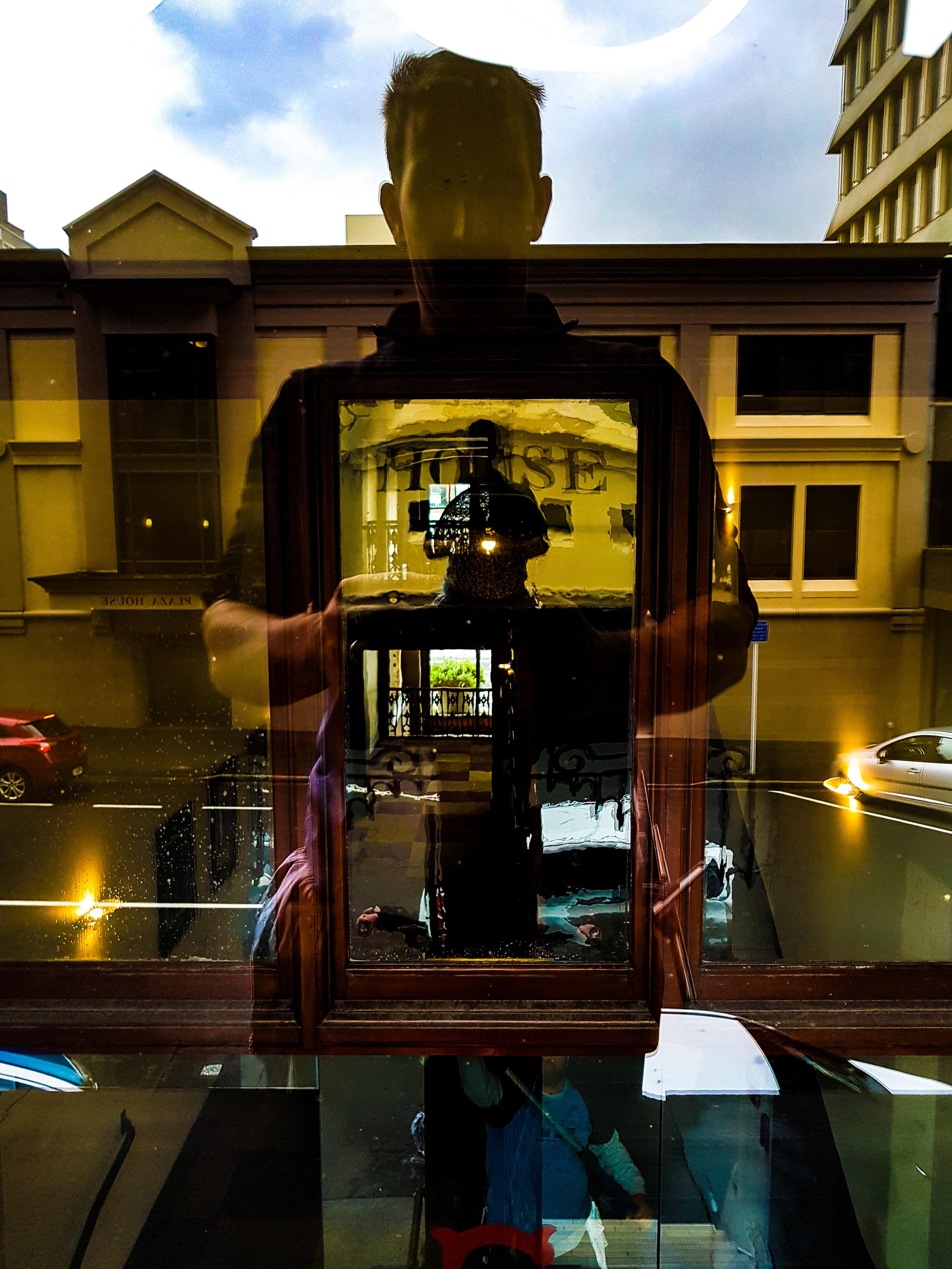 Dunedin photographer making reflections