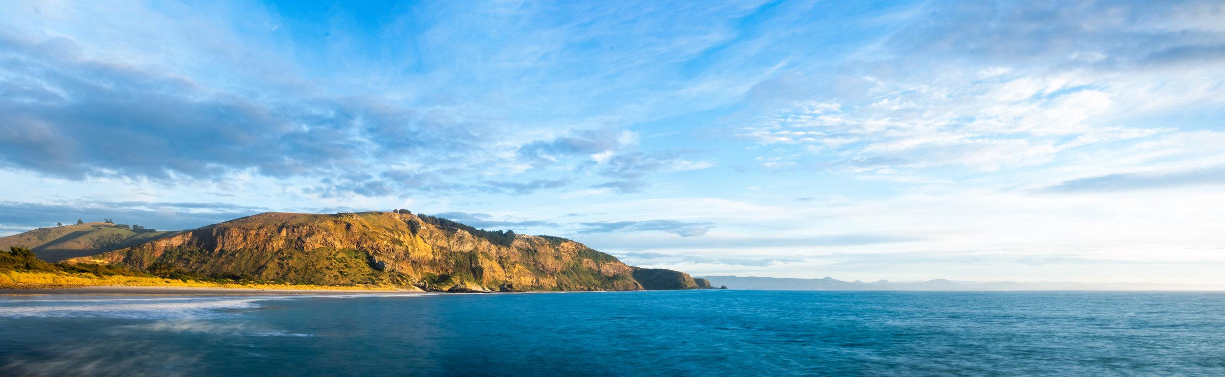 Panorama 14 Blue Aramoana Beach 16.06.18 150dpi.jpg