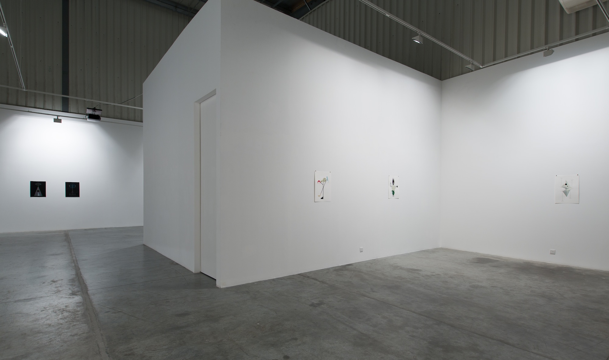 Installation view / New Works, Fahd Burki