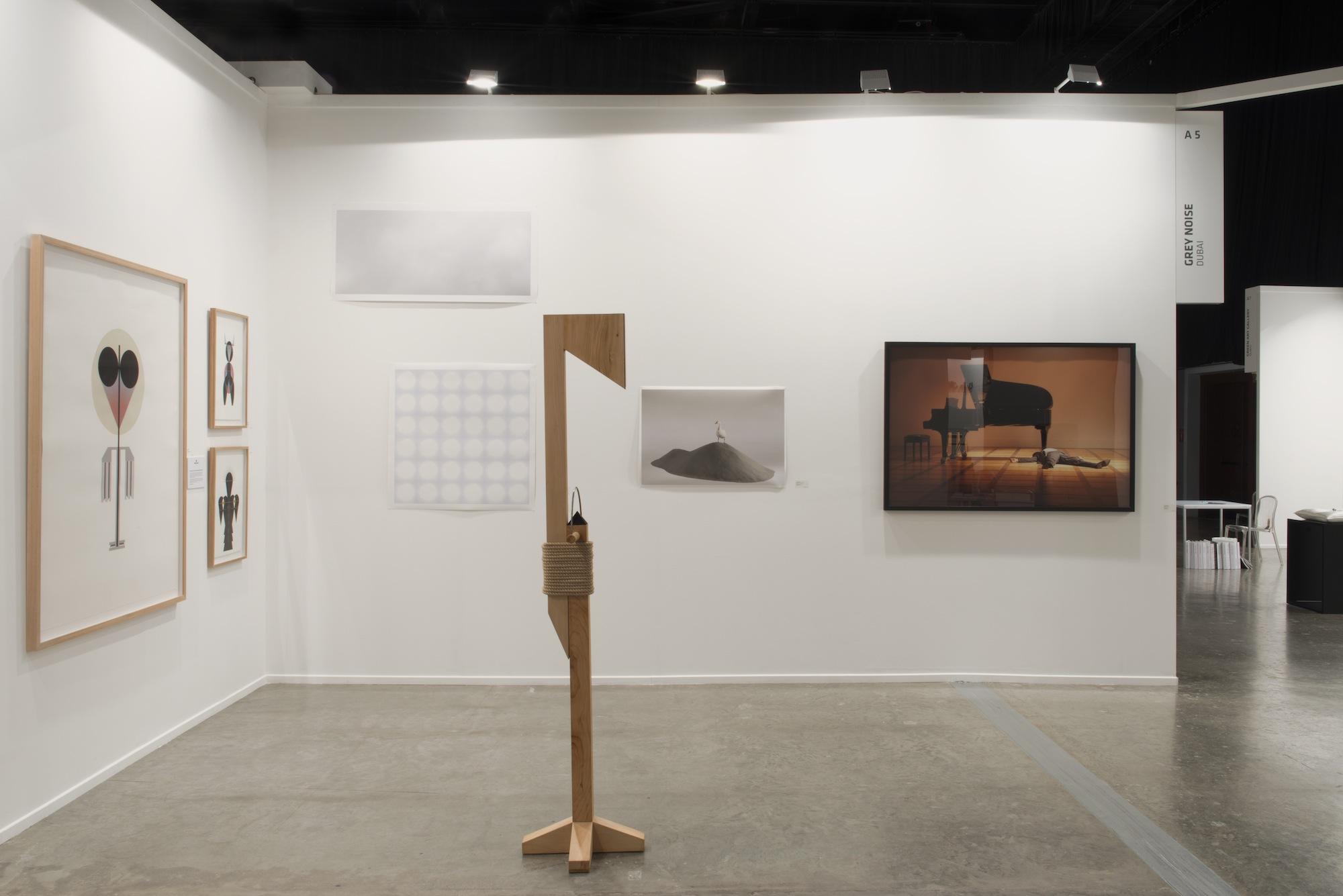 Installation view  Art Dubai, 2013 Madinat Jumeirah, Dubai
