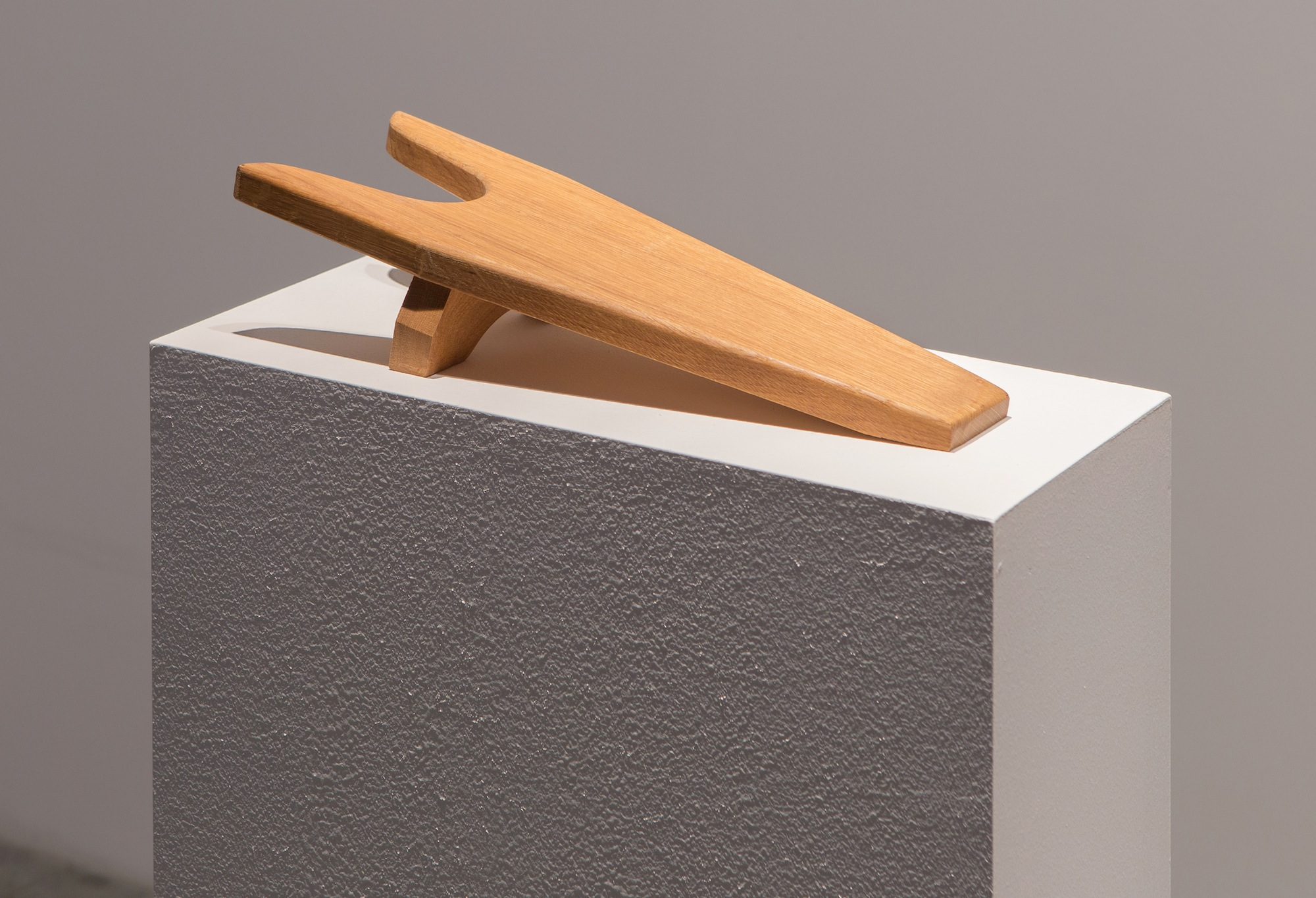 Objected 1 2013 Wood sculpture 14 x 39 x 8 cm