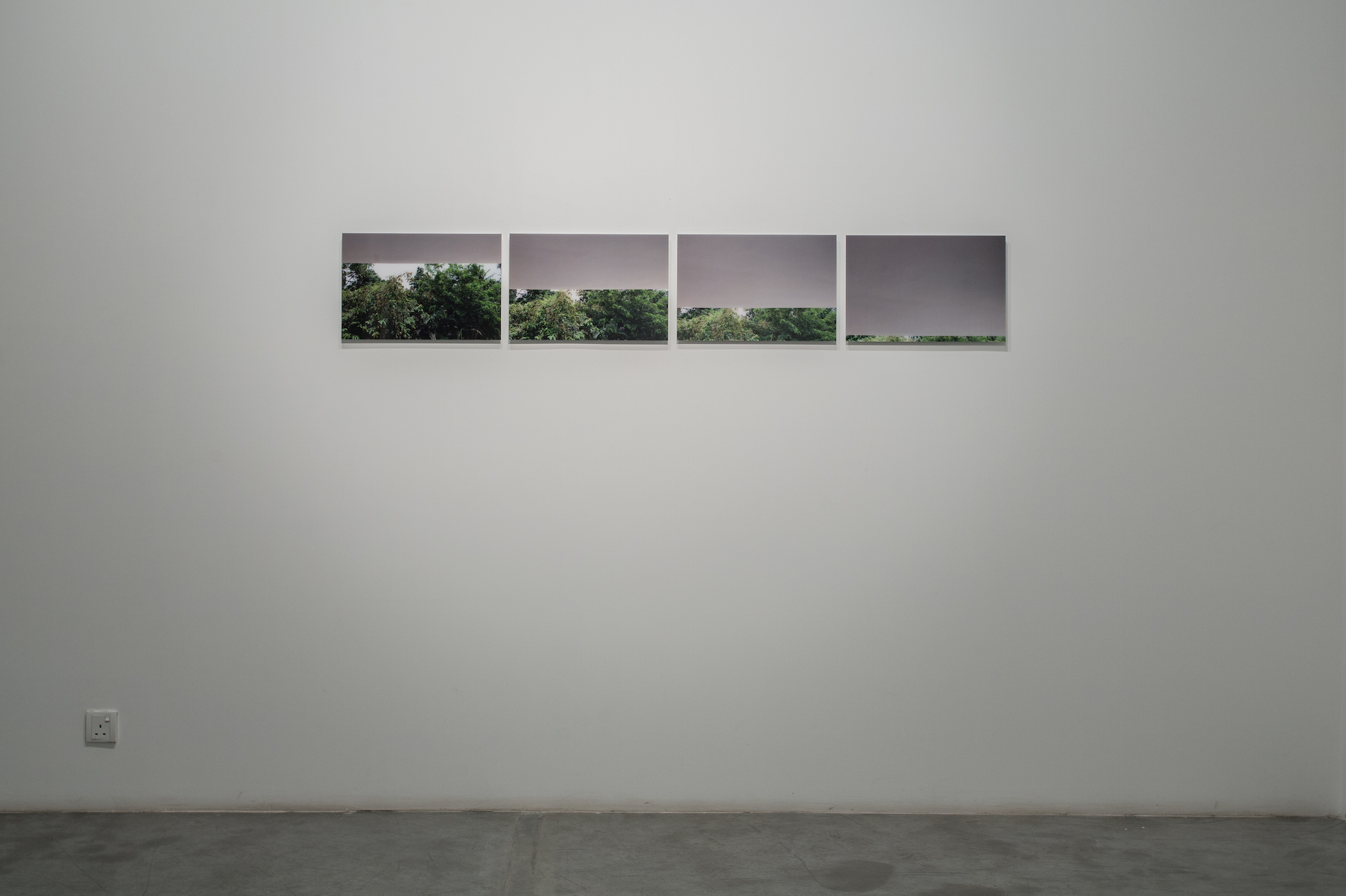 Interruptions 1 (set of 4) 2014 C-type prints, diasec 30.48 x 45.72 cm each Edition 5 + 2AP