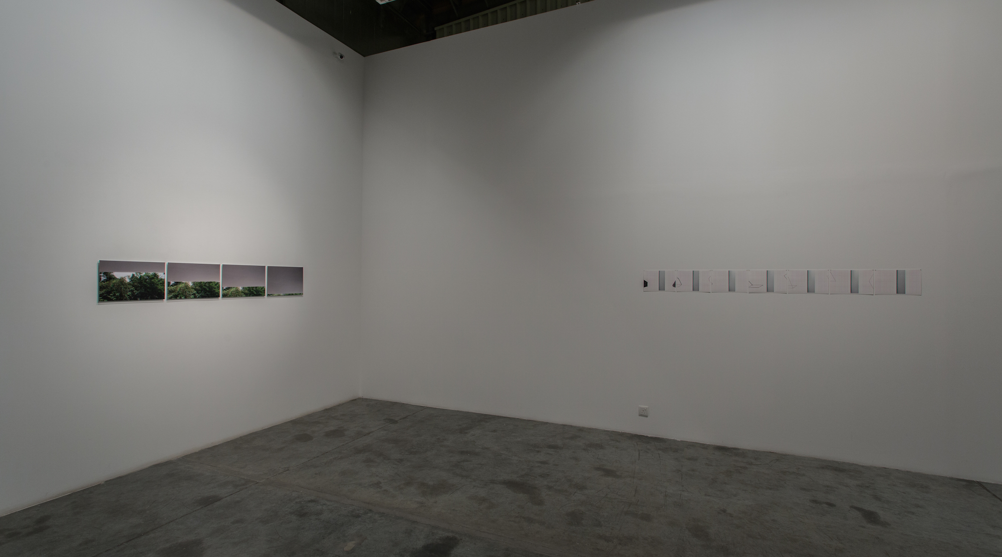 Installation view / Accidental Excavations