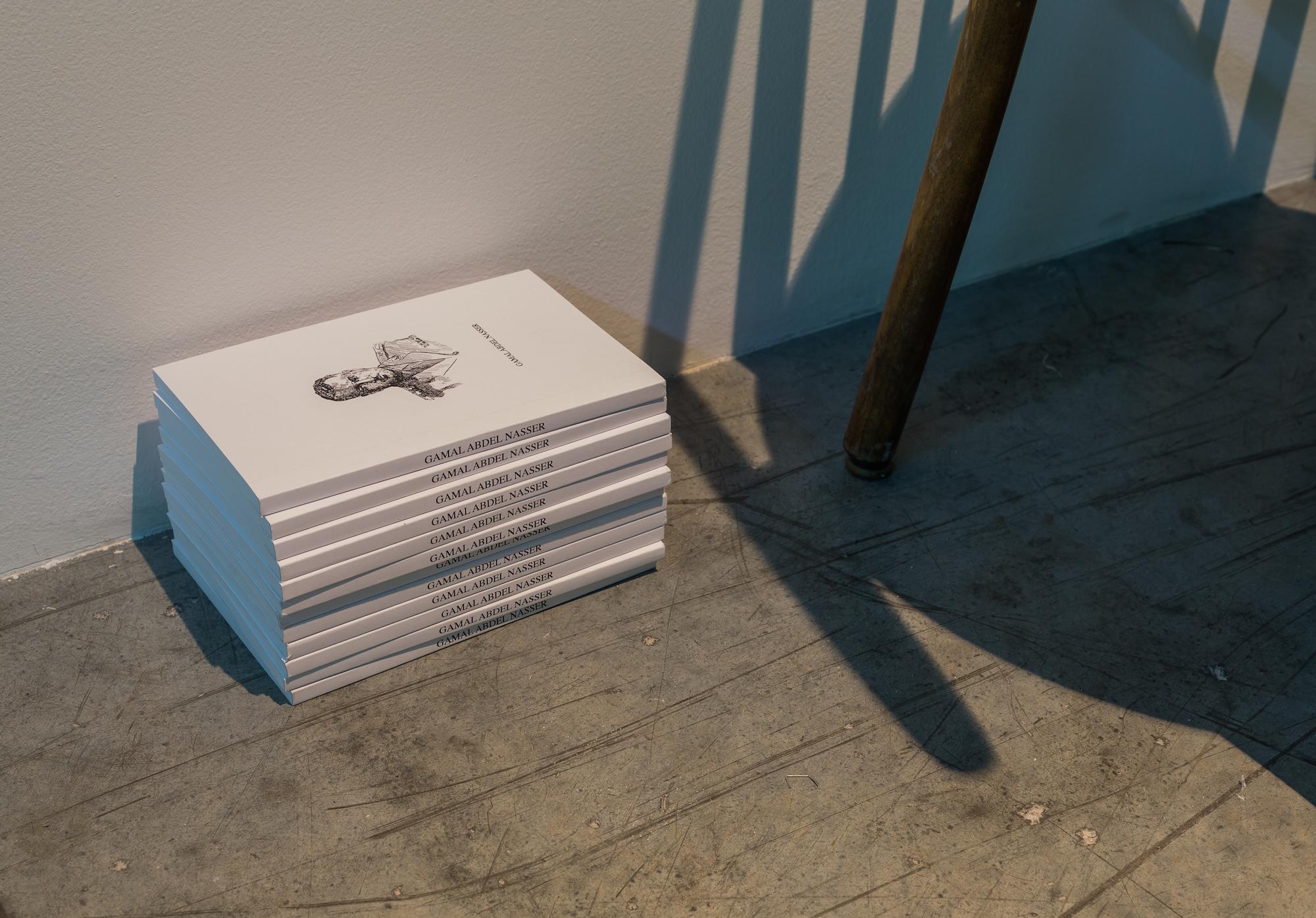Gamal Abdel Nasser 2014 Hand-bound book 20 x 13 x 1 cm Edition of 12