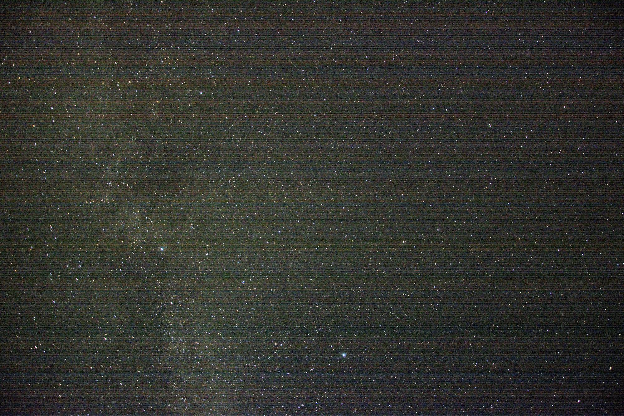 Michael John Whelan  Stars above Mount Leinster 2014 C-print (alubond mount), framed 41.5 x 60 cm Edition of 3 + 2AP