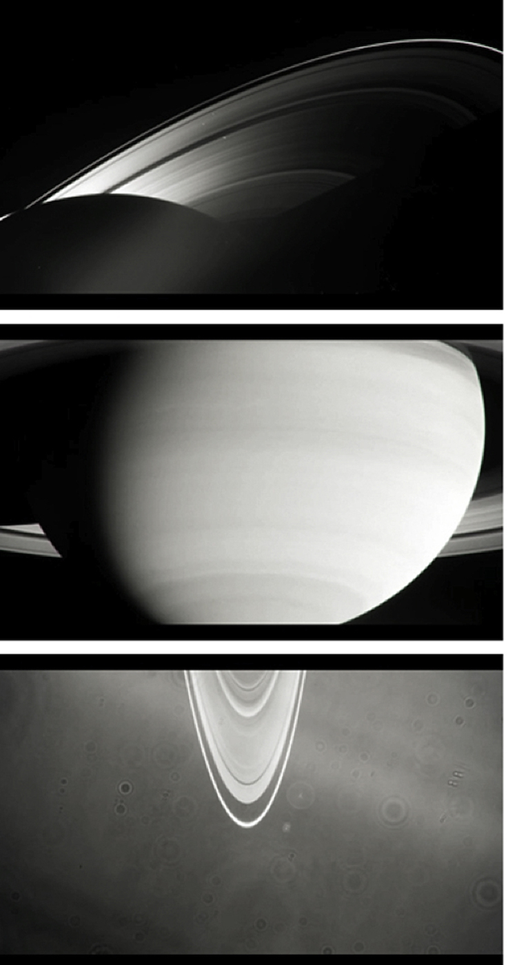 Mehreen Murtaza  Solstice 2013 Stock footage from Cassini-Huygens Imaging Science Subsystem 00:03:45 Edition of 3 + 1AP