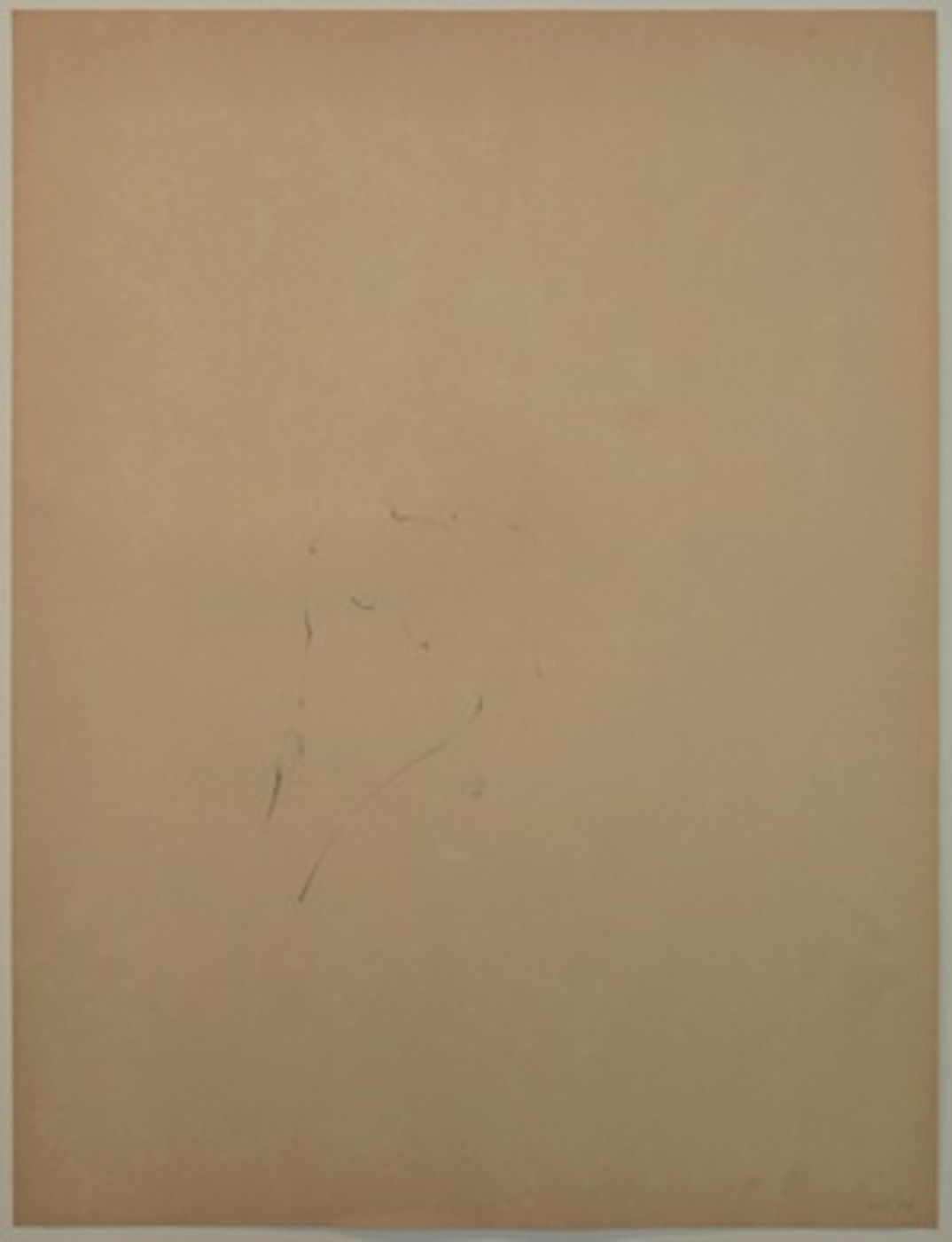 Lala Rukh  Untitled (13) 1983 – 1985 Conté on paper 74 x 56.5 cm