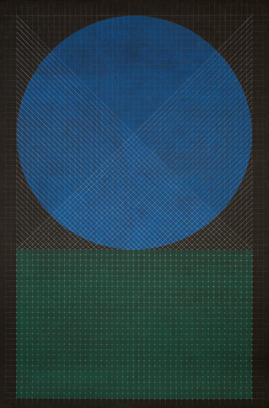 Fahd Burki  Untitled 2015 Pastel pencils on paper 154 cm x 101.5 cm