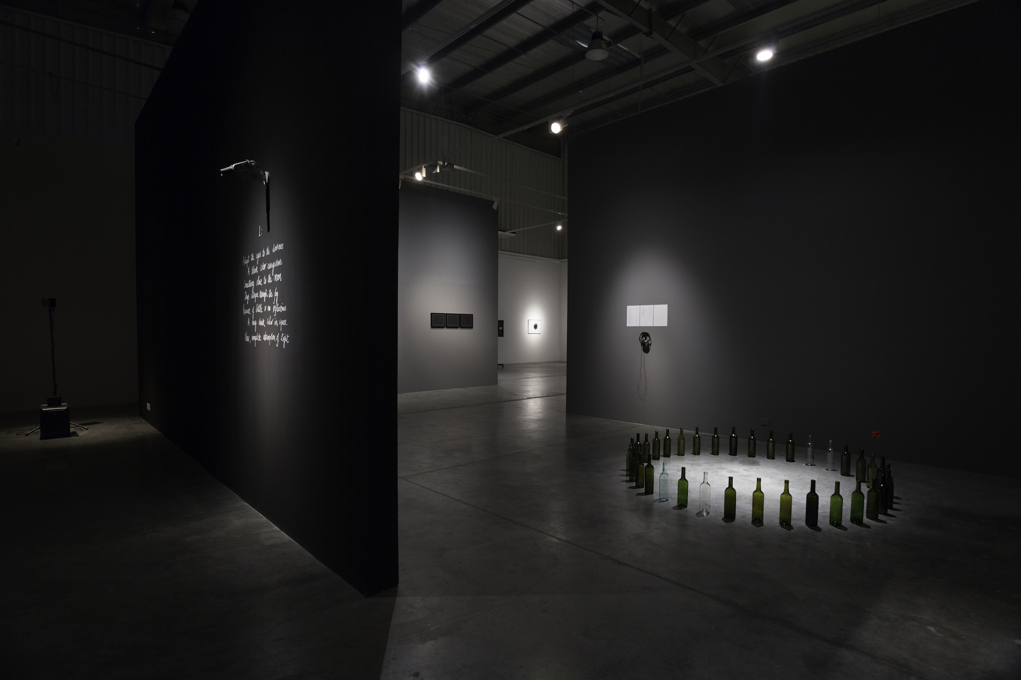 Installation view / But even if I cannot see the sun