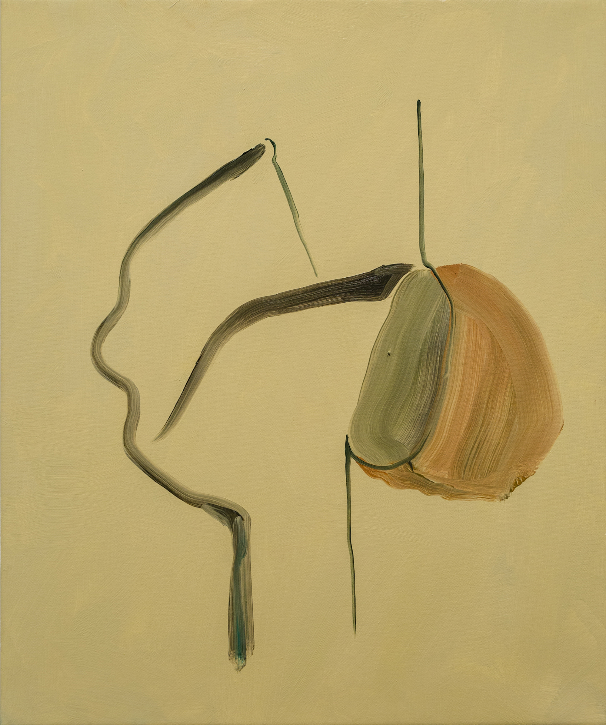 Sculpture 2015 Oil on canvas 60 x 50 cm