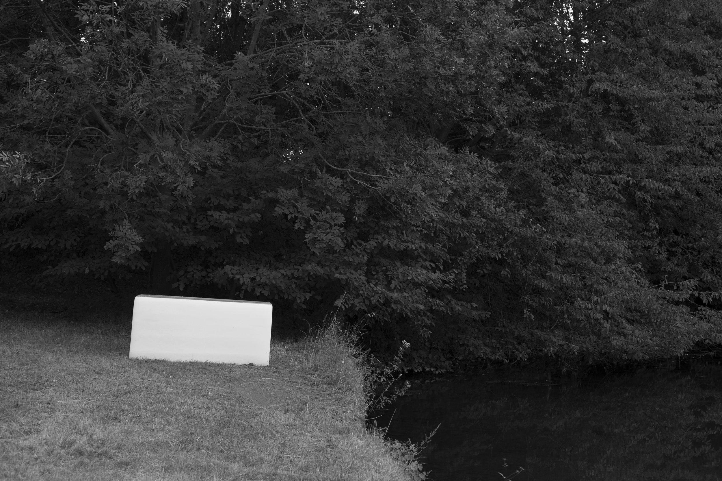 From Water To Water 2013 Inkjet on Hahnemühle Photo Rag Baryta 315g (alubond mount), inkjet on Newspaper print 54.5 x 85 cm (2 wooden frames) 29.7 x 21 cm (1 metallic frame) 3 + 2AP