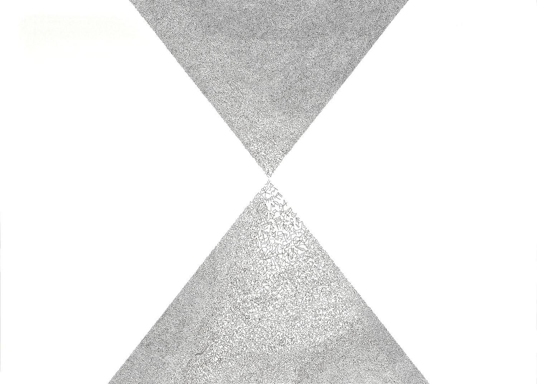Nadia Khawaja  Drawing 45 2012 Felt tip pen on paper 50 x 70 cm