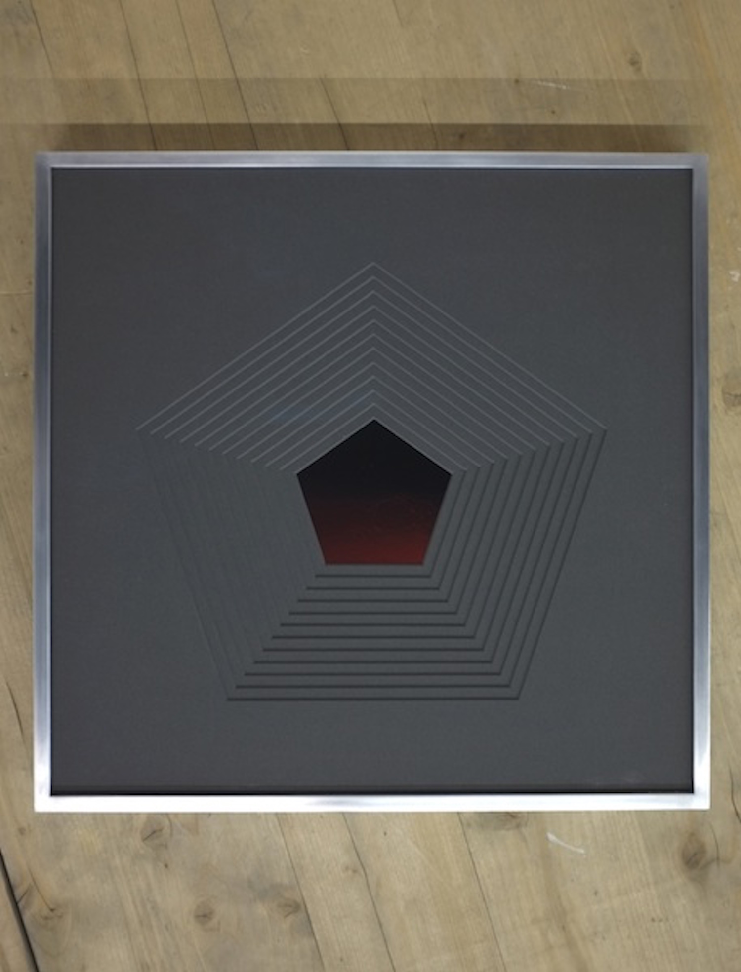 Michael John Whelan  In Embers (Dodecahedron) #2 2013 C-Type photographs, framed 36 x 36 cm Edition of 3 + 1AP.