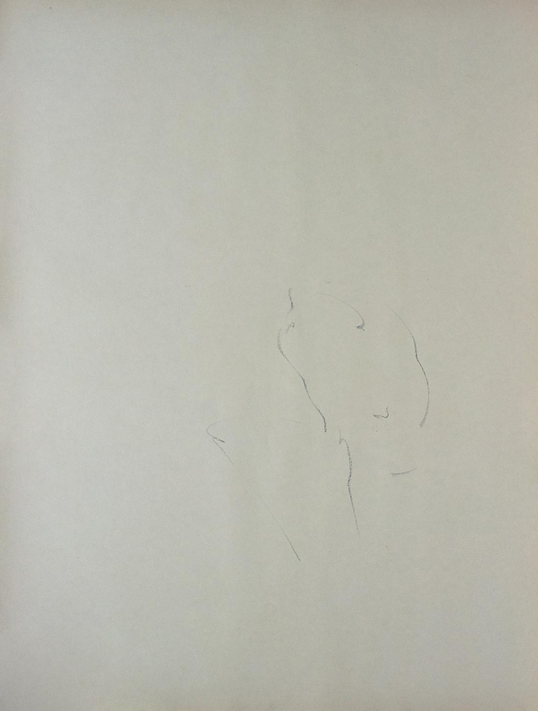 Lala Rukh  Untitled 13 1983 - 1985 Conté on paper 74 x 56.5 cm