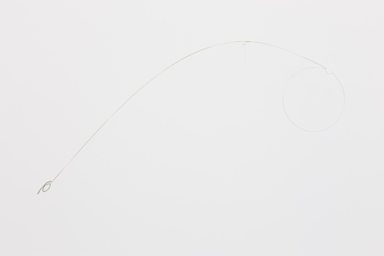 Noite 2018 Silver, brass 50 x 85 x 7.7 cm