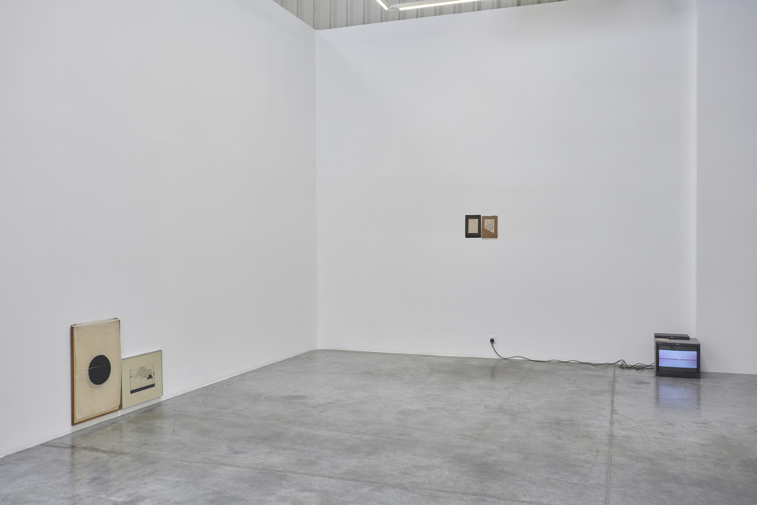 Installation view | Exit from the Entrance