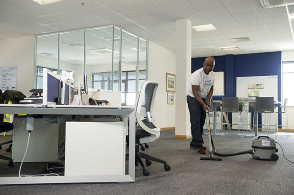 Derby Commercial Cleaning Thorough office cleaning