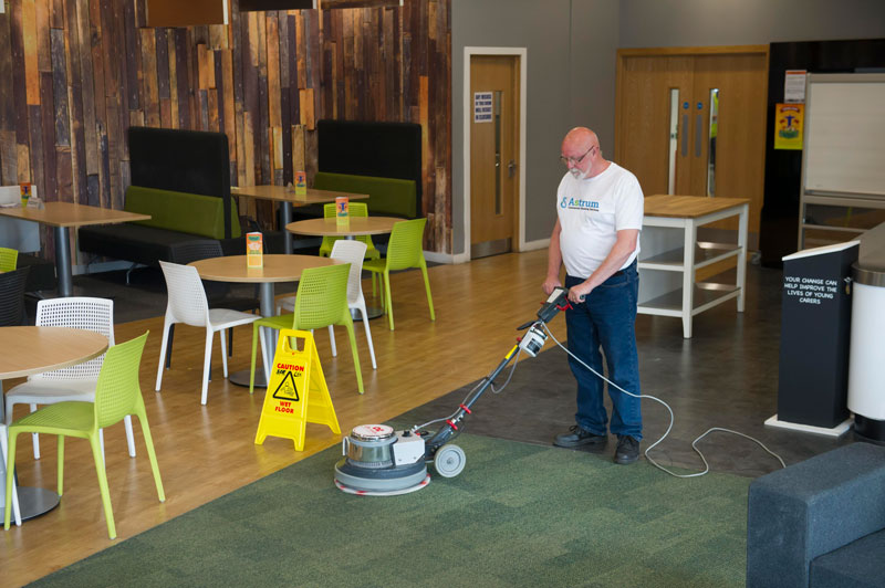 Carpet and hard floor cleaning for business based in the Midlands