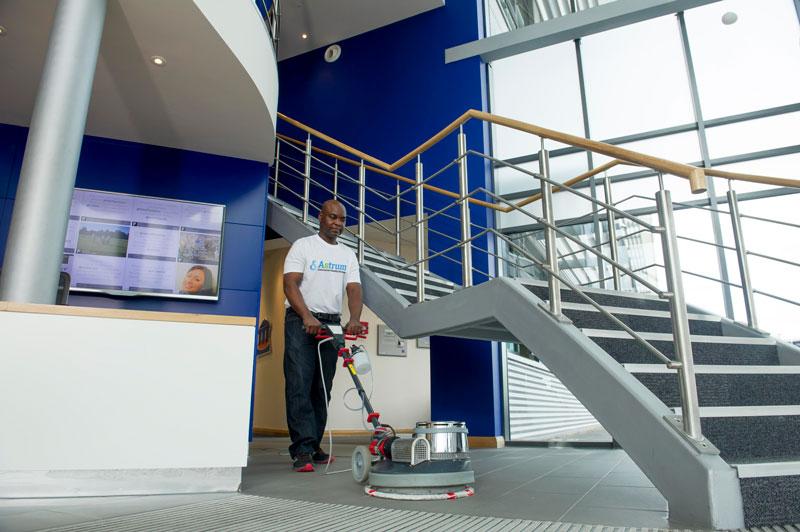 Astrum polishing office floor