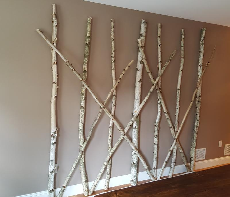 White Birch Pole Adornment for Residential Client.jpg
