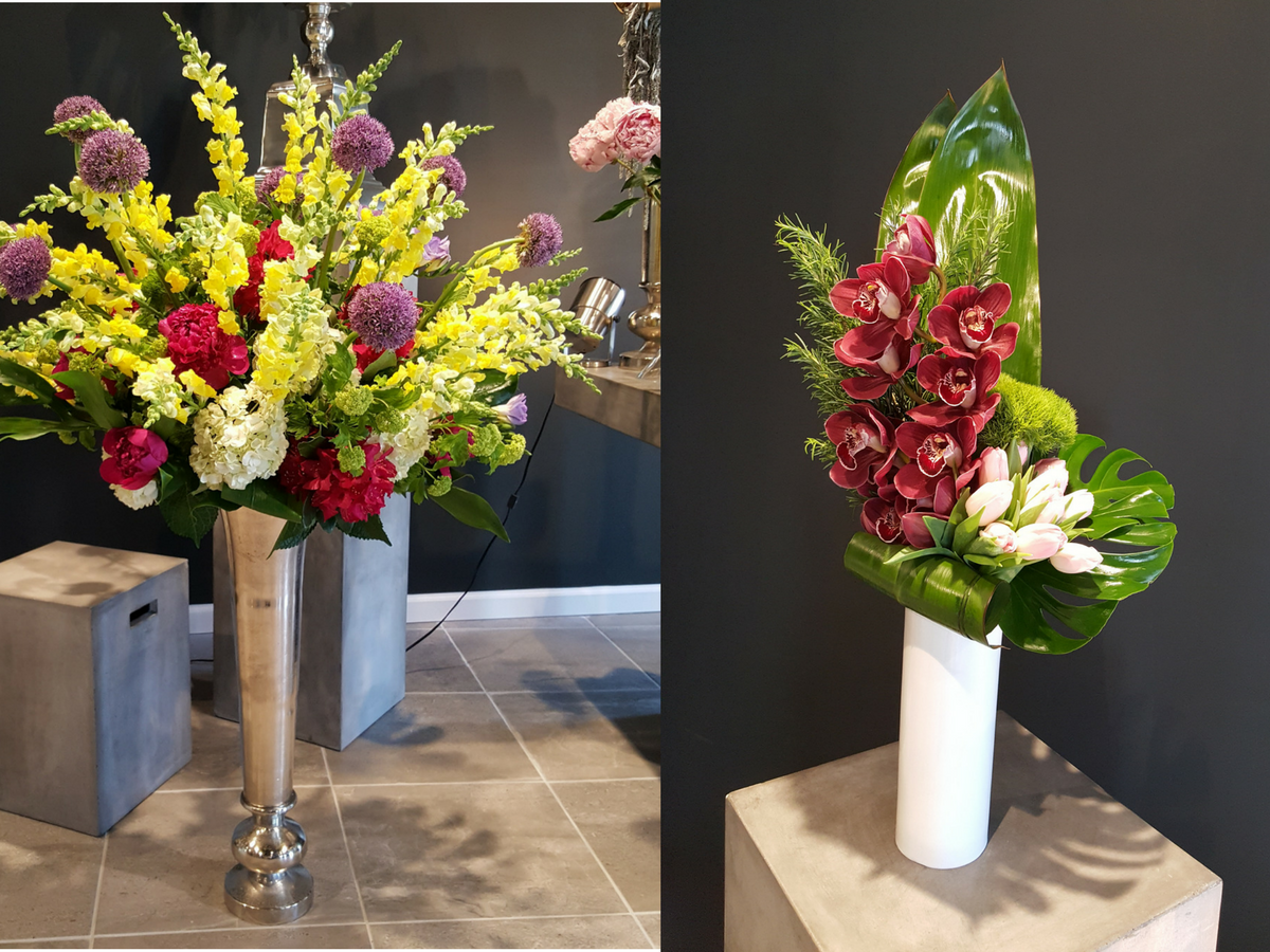 Bouquets & Beyond is a luxury florist shop in Woodbury, Connecticut.